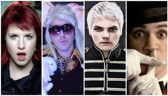 it's not a phase, tiktok, paramore, all time low, my chemical romance, panic! at the disco