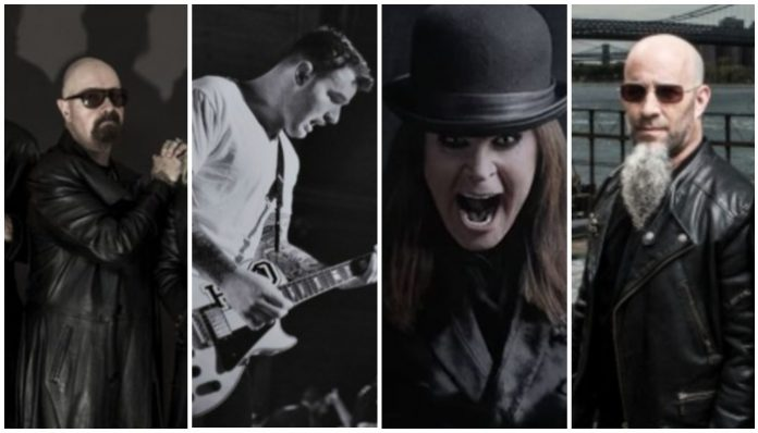 metal bands vocalists switch, judas priest, chad gilbert, ozzy osbourne, anthrax