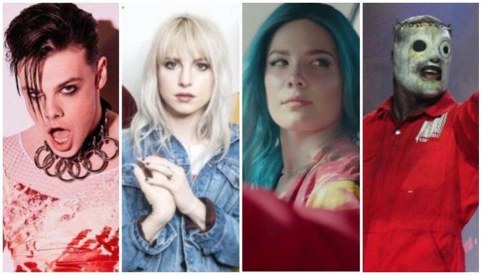 spotify artist playlists, yungblud, paramore, halsey, slipknot