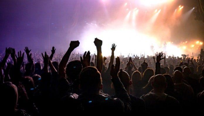 Concert crowd show music venues concert covid-19 coronavirus