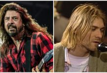 Dave Grohl Kurt Cobain Foo Fighters