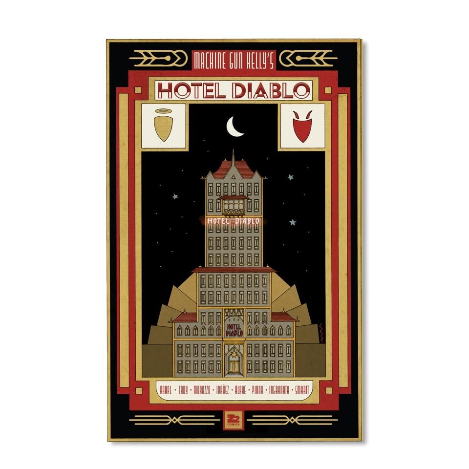 Machine Gun Kelly Hotel Diablo Deluxe cover-min