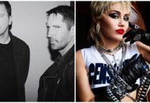 Miley Cyrus Nine Inch Nails