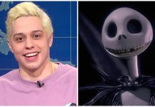 Pete Davidson Nightmare Before Christmas Saturday Night Live