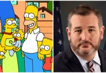 Ted Cruz The Simpsons