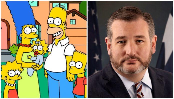 Ted Cruz The Simpsons