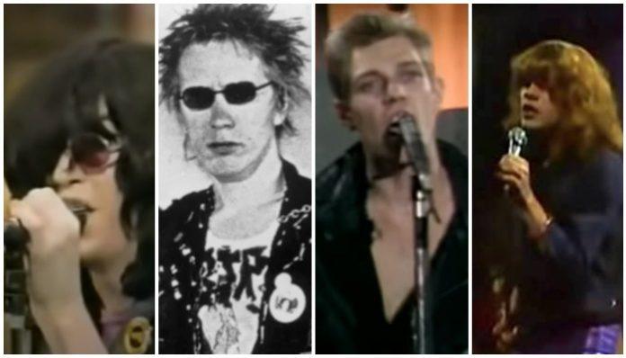 best punk tv moments, ramones, sex pistols, clash, new york dolls
