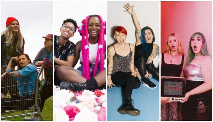 pop-punk girl bands all-female alternative groups female punk rock