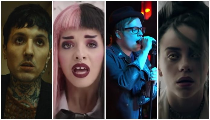 weird sounds in songs, bring me the horizon, melanie martinez, fall out boy, billie eilish