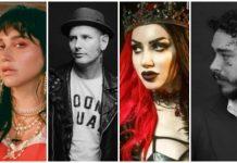 musicians ghost hunting, kesha, corey taylor, ash costello, post malone