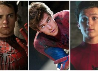Spider Man Andrew Garfield Tobey Maguire Tom Holland