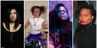 women drummers, the summer set, jess bowen, nandi bushell, ada juarez, meet me at the altar, the pocket queen, taylor gordon