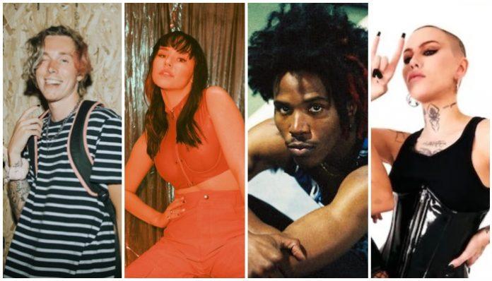 up-and-coming musicians collabs, Jeris Johnson, UPSAHL, DE'WAYNE, Siiickbrain