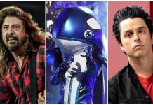 Masked Singer Orca Billie Joe Armstrong Dave Grohl