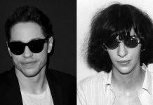 Pete Davidson & Joey Ramone-min