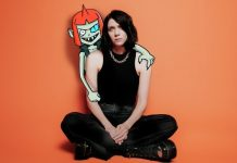 K.Flay Inside Voices ep announcement, four letter word music video