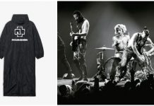 fashion loves metal, rammstein, balenciaga