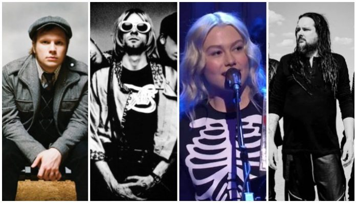 snl emo performances, fall out boy, nirvana, phoebe bridgers korn