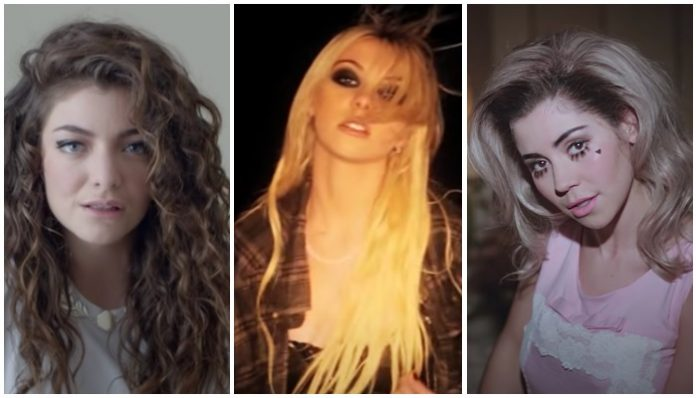tumblr musicians, lorde, taylor momsen, marina and the diamons