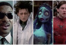 Danny elfman, men in black, edward scissorhands, corpse bride, spiderman