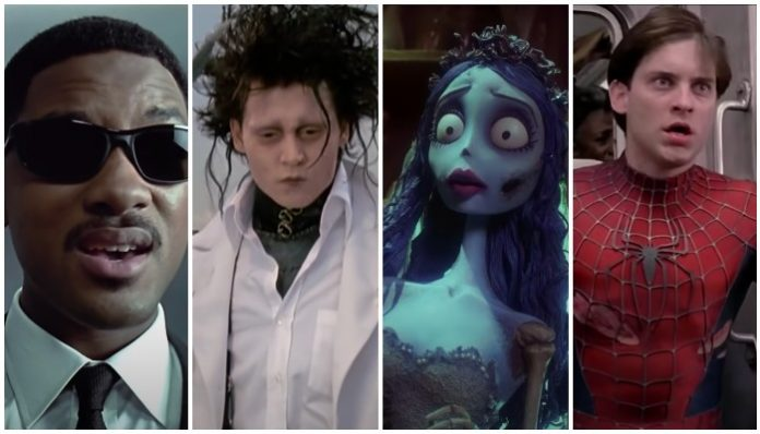 Danny elfman, men in black, edward scissorhands, corpse bride, spiderman