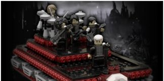 MY CHEMICAL ROMANCE LEGO SET WELCOME TO THE BLACK PARADE