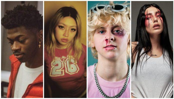 21 artists 21 or younger, lil nas x, beabadoobee, noahfinnce, deathbyromy