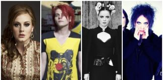 mcu bands, adele, my chemical romance, garbage, the cure