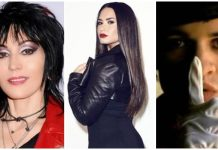 mandela effect in music, joan jett, demi lovato, panic! at the disco