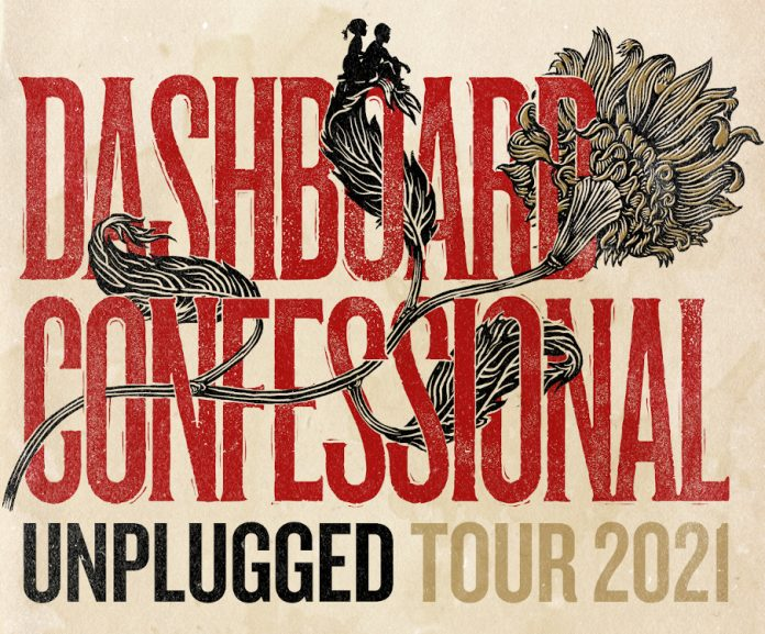 Dashboard Confessional Unplugged tour 2021
