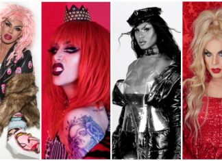 drag musicians, Yvie Oddly adore delano, shea coulee, katya