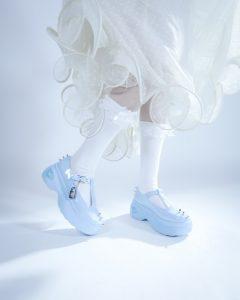 poppy, koi footwear