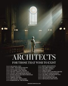 Architects U.S. and Canada Tour