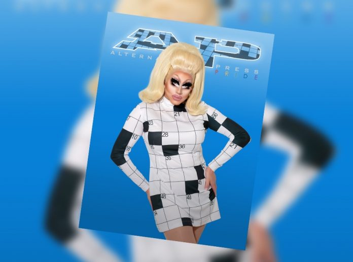 Trixie mattel header image digital pride cover