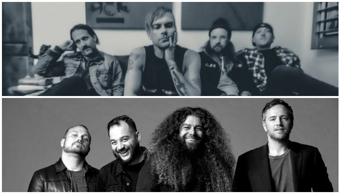 coheed and cambria and the used tour