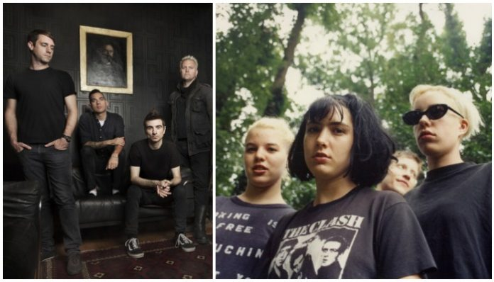 punk albums 1996 anti flag bikini kill