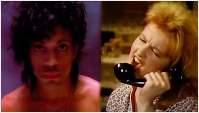 80s music videos cyndi lauper prince