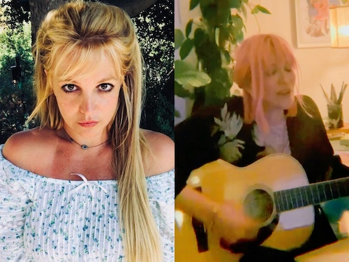 Britney Spears Courtney Love
