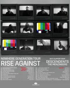 Rise Against 'Nowhere Generation' tour dates