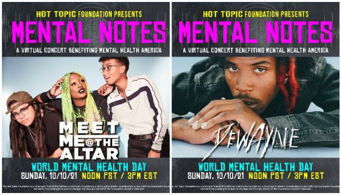 Hot Topic Mental Notes stream