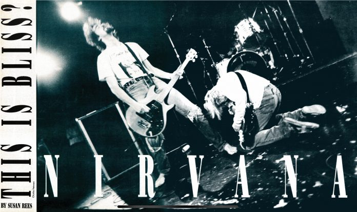 Nirvana 1992 cover story
